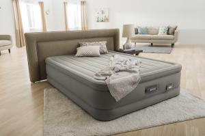 64770 Надувная кровать Dream Support Airbed 152х203х46см, встроенный насос 220V
