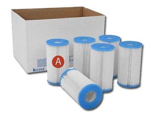 Картридж Intex (тип А), упаковка 6 шт.