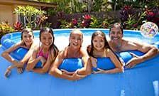 Надувные бассейны для дачи – радость детям, удовольствие родителям!
