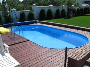 Сборный бассейн Summer Fun 4501010259KB овальный 737х360х150 см