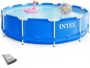 Каркасный бассейн Intex 28210 366х76 Metal Frame