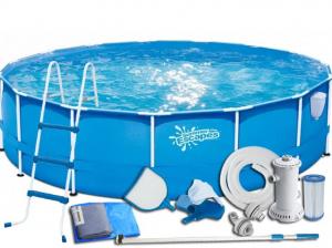 Каркасный бассейн SummerEscapes P20-1442-B 427x107 Metal Frame