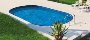 Сборный бассейн Summer Fun 4501010248KB овальный 700х350х150 см